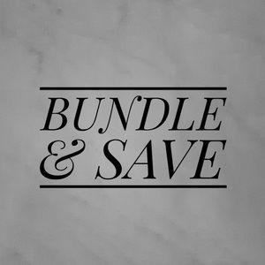 BUNDLE & SAVE ON SHIPPING 🚚